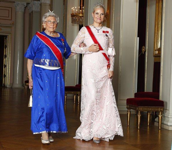 Crown Princess Mette-Marit's diamond tiara, Queen Sonja,Princess Astrid, Prince Haakon Funeral of King Bhumibol Adulyadej