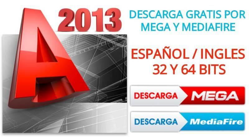 Descargar autocad 2013 mediafire mega gratis