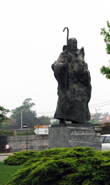 estátua de São Pedro de Rates