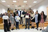 Βράβευση μαθητών για το νέο λογότυπο του Δήμου Δέλτα