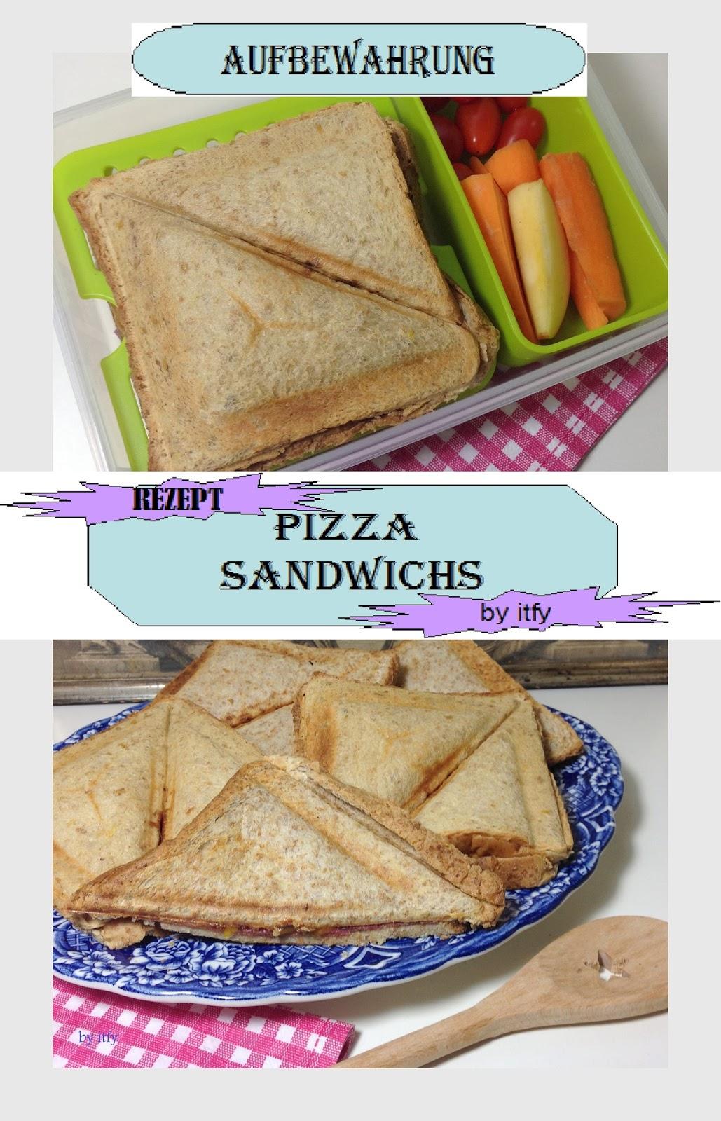 I TEST FOR YOU :-): Schnelle Küche to Go: Pizza Sandwichs mit Emsa ...