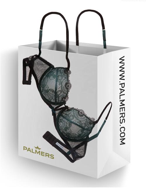 Desain Paper Bag/ Tas Belanja dalaman wanita