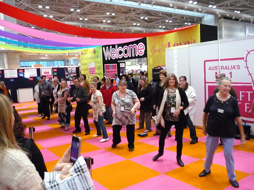 Dancing through the Sydney Quilt Show 2012