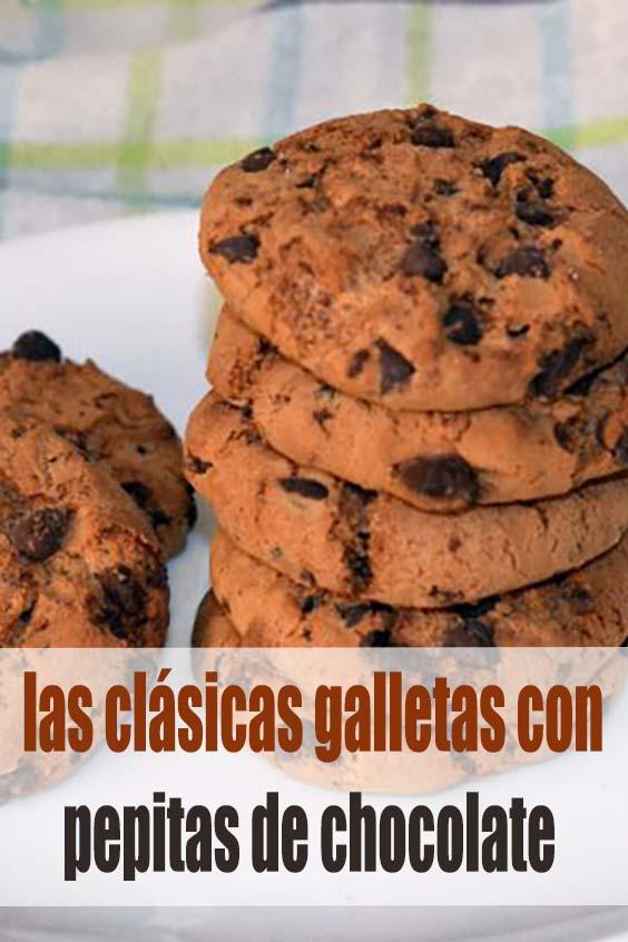 Cookies, las clásicas galletas con pepitas de chocolate