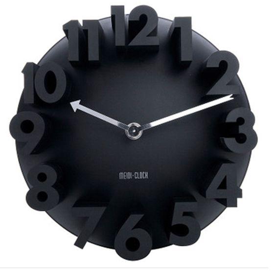 Объемные 3д часы