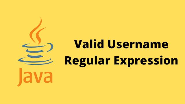 HackerRank Valid Username Regular Expression solution in java