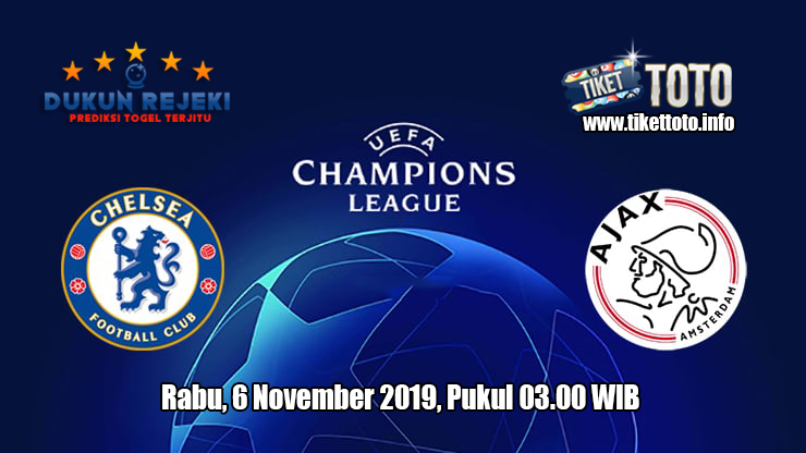 Prediksi Champions League Chelsea VS Ajax 6 November 2019