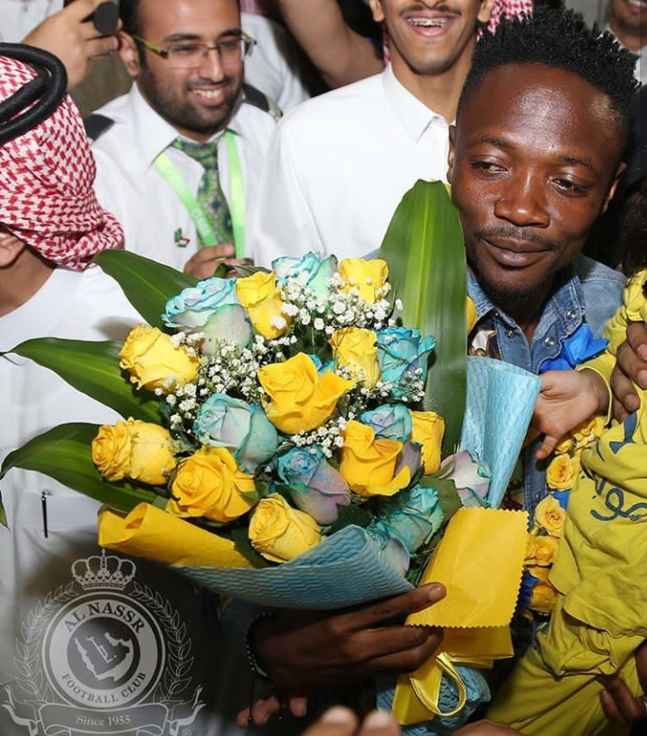 Ahmed Musa Receives Rousing Welcome In Saudi Arabia