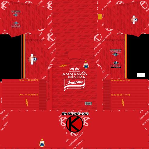 Persija Jakarta Kits 2020 - Dream League Soccer Kits