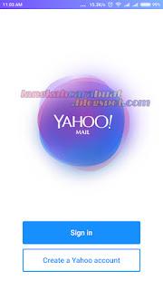 Cara Buat Email Yahoo Indonesia Baru Lewat HP Android