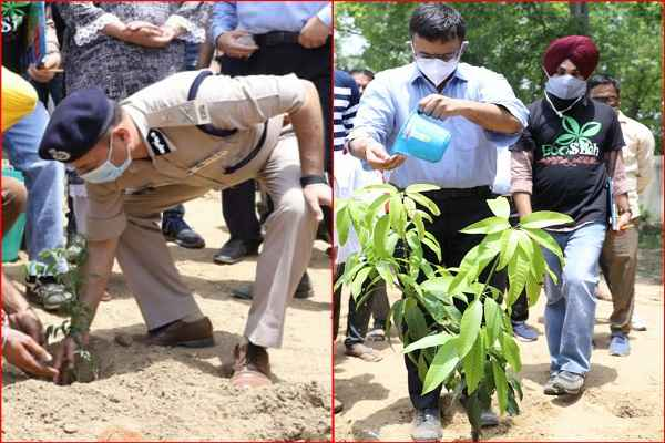 faridabad-police-op-singh-jungle-ka-dangal-world-evironmen-day