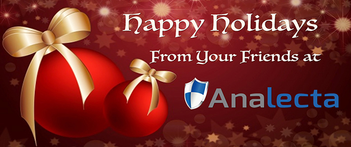 Security is about people - Analecta Happy Holiday banner