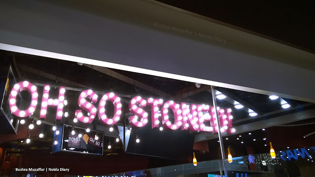 Noida Diary: Oh So Stoned Ice Cream Parlour at DLF Mall of India, Noida