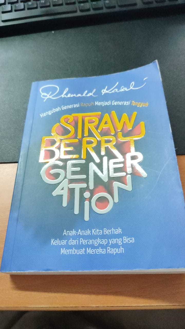 Buku Strawberry Generation - Rhenald Kasali