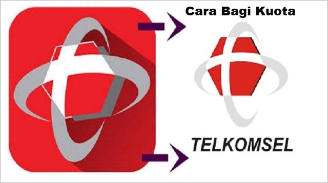 Cara Bagi Kuota Telkomsel