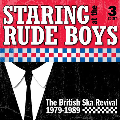 The cover illustration features a close-up of the type of skinny tie and suit coat worn by rude boys and girls.
