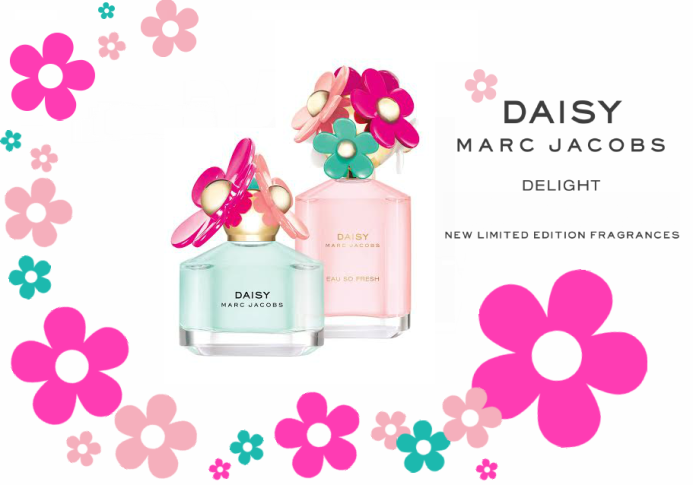 92de3199d8d8 The two new perfumes are both limited-edition editions and refer to two new  versions of Daisy and Daisy Eau So Fresh – Delight.