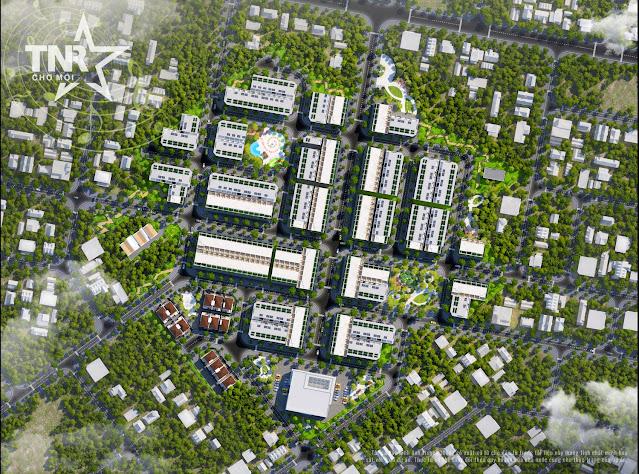 Tiến độ dự án TNR Stars Chợ Mới tháng 4/2021