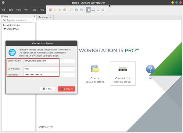 Menambahkan USB Disk ke VMWare ESX/ ESXi