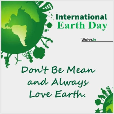 Earth Day Wishes Greetings