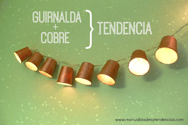 Guirnalda luminosa diy