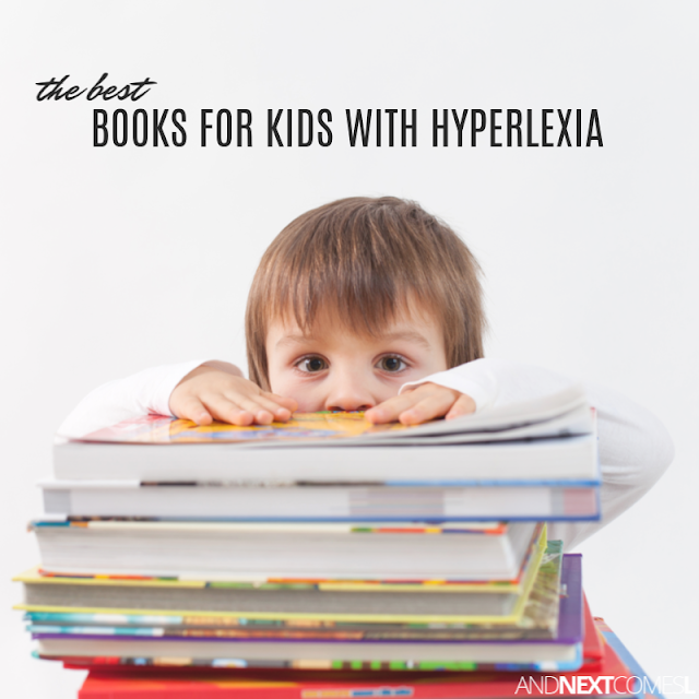 Best books for kids with hyperlexia