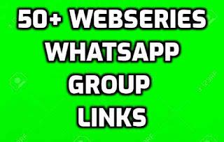 Webseries whatsapp group link
