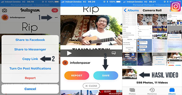 Cara Download Video di Instagram Menggunakan InstaSave