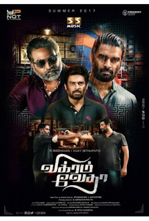Vikram Vedha (2017) Dual Audio 720p HDRip [Hindi+Telugu]