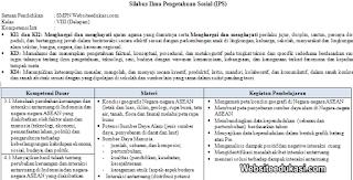Silabus IPS Kelas 8 SMP/MTs Kurikulum 2013 Revisi 2019