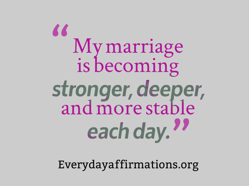 Affirmations for Relationships, Daily Affirmations 2014