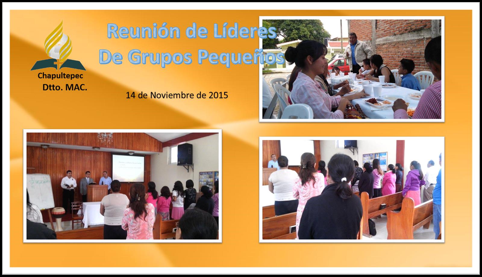 IASD Distrito MAC poza rica ver: Chapultepec sede de la Reunión de ...