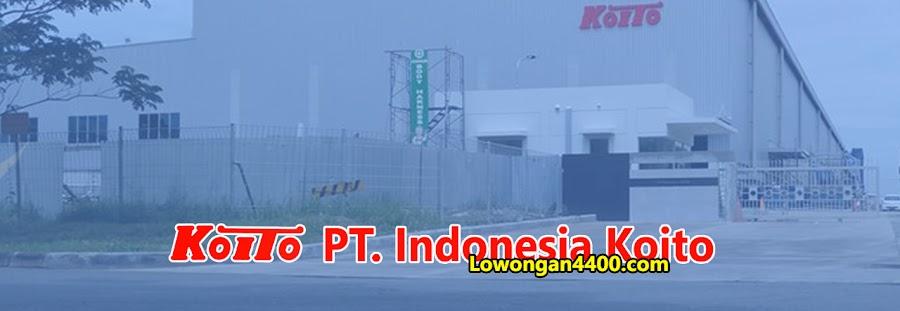 Lowongan Kerja PT. Indonesia Koito Karawang 2021