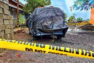 Ditangkap Pembunuhan Wanita Terbakar dalam Mobil di Sukoharjo