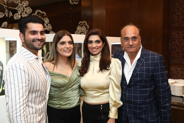 Rahil Tandon, Reynu Taandon, Nikhita Tandon and Mr. Sunil Tandon