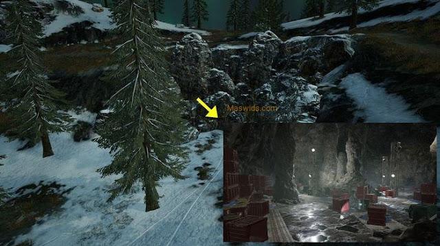 lokasi gua rahasia di map vikendi