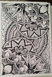 zentangle doodle mandala patterns doodles tangle zen judy creations fest drawings zentangles mandalas dibujos drawing pattern ลปะ เด judyszentanglecreations circle
