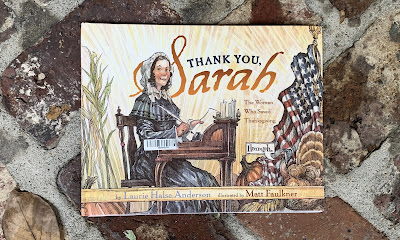 Image for the children's book Thank You, Sarah