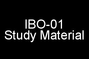 IGNOU MCOM 1st Year Study Material For IBO-01