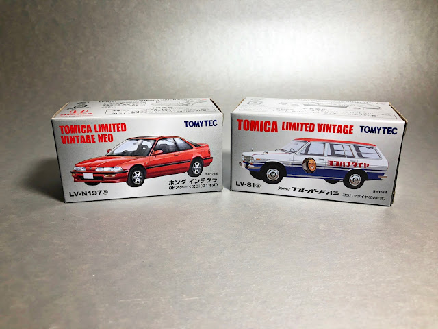 Tomica Limited Vintage NEO LV-N197a Honda Integra 3-Door Coupe XSi('91)