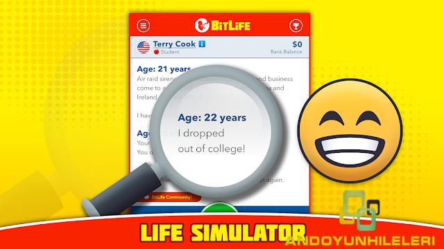 BitLife Life Simulator Tüm Özellikler Açık Hileli APK