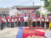 Lakukan Secara Swadaya, Acara  Bhakti Sosial Dan Refleksi 5 Tahun Pelaksanaan PKH Berjalan Sukses