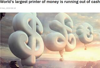 현금금지 : 영국 드라루(De La Rue), 세계 최대 현금(은행권) 인쇄기업 파산 위기