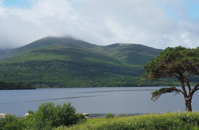 Killarney, Killarney lake, vuoret