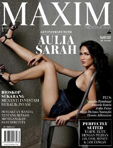 Majalah MAXIM Indonesia Edisi Mei 2016 Aulia Sarah | www.insight-zone.com