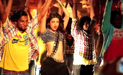 kajal agarwal hd stills in Pakka local item song from Janatha garage