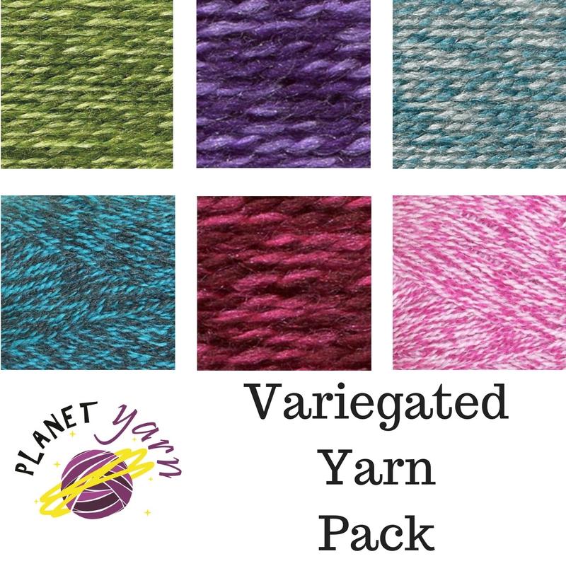 Planet Yarn: Choosing Colours and Yarn Packs