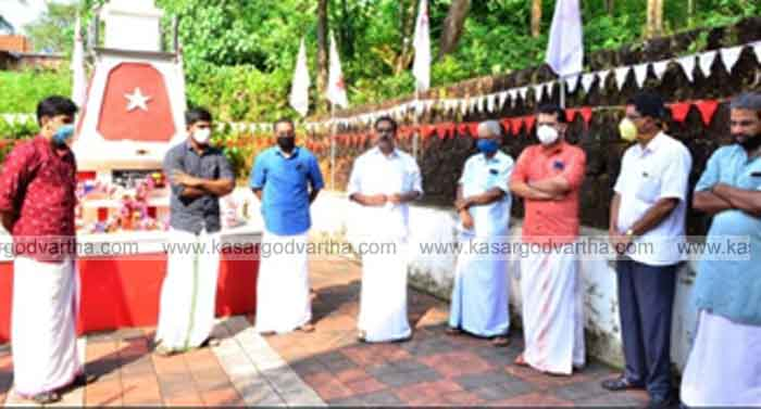 Sixth martyrdom of CPM activist P Muraleedharan commemorated