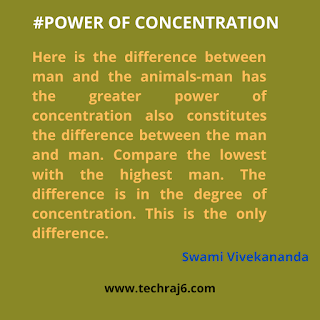 Power Of Concentration Quotes By Swami Vivekananda
