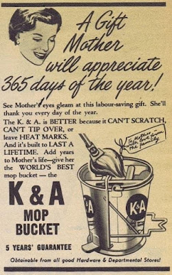 K &A Mop Bucket for Mother's Day
